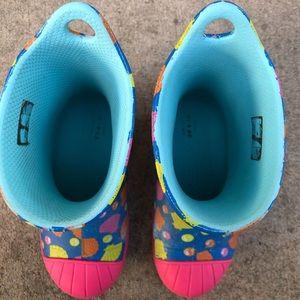 CROCS Shoes - Crocs Bump It Shell Printed Rain Boots Toddler 9